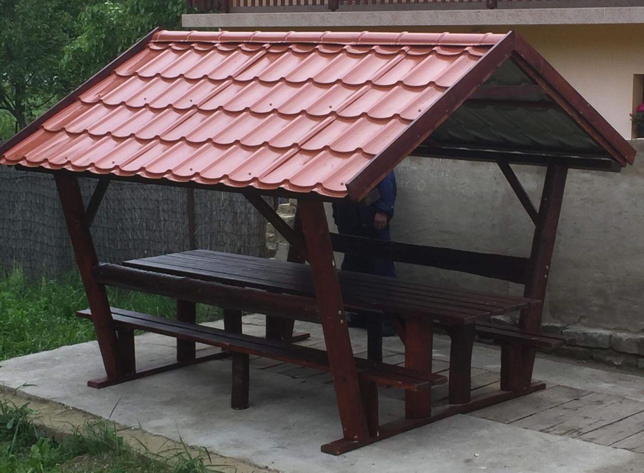 Rönkfa bútor lemeztetővel INGYEN kiszállítás és összeszerelés