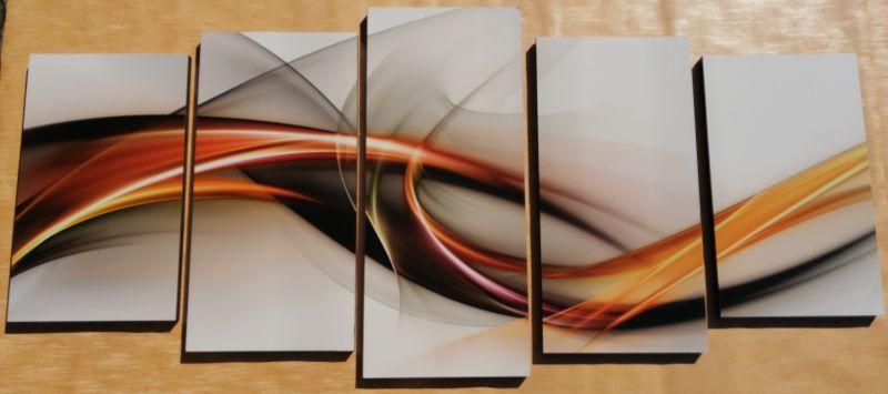 Colours 5 részes fali kép 150 x 70