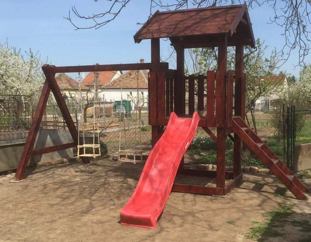 Fa Játszótér 3,5 méteres - INGYEN kiszállítás és telepítés